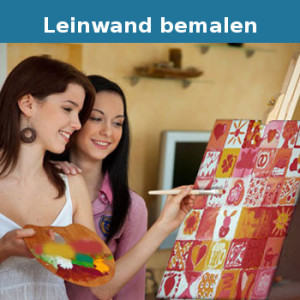 leinwand bemalen party. Black Bedroom Furniture Sets. Home Design Ideas